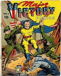 Major Victory Comics: Issue 1 Volume Issue 1 by Harry A Chesler Comics